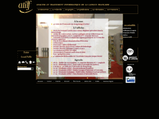 Site du laboratoire ATILF