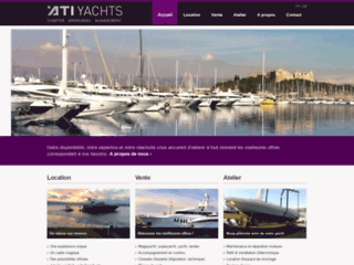 Détails : ATI Yachts, vente et location de yachts à Antibes