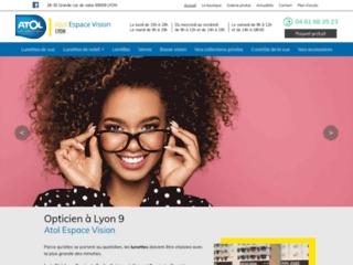 Votre opticien à Lyon 9, Atol Espace Vision