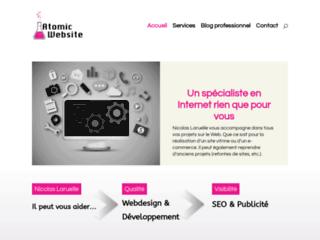 Atomic Website,agence de communication web  en Belgique