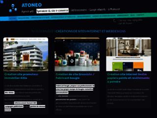 Atoneo Créateur de site Web