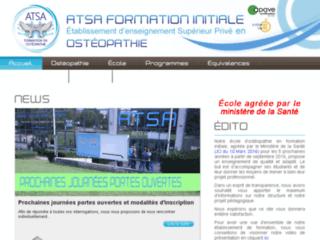 Détails : ATSA FI, formation initiale ostéopathie