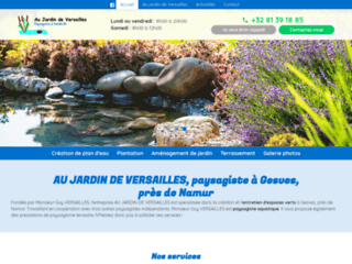Aménagement jardin paysager à Namur