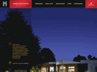Site web - Auberge des Matfeux