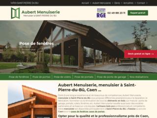 Aubert Menuiserie : menuisier à Saint-Pierre-du-Bû, Caen