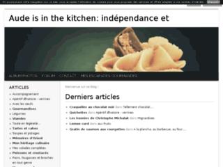 Aude is in the kitchen: indépendance et descendance.