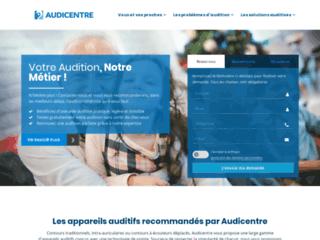 Audicentre - Le spécialiste de l'audition