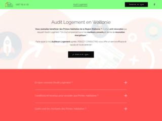 Audit Logement pour obtenir les Primes Habitation de la Région Wallonne.