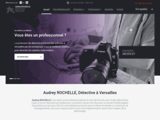 Audrey ROCHELLE, Détective à Versailles