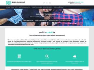 Détails : Aufilducredit.com : simulateur de crédit et rachat de crédit