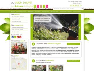 Détails : Artisan du végétal - Au Jardin d'Olivet