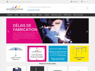 Détails : Une e-boutique pour les forains