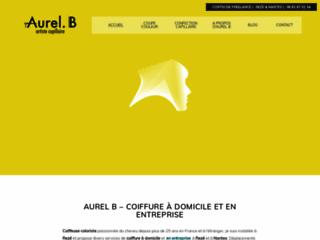 Aurel.B- coiffure à domicile et entreprise- Nantes