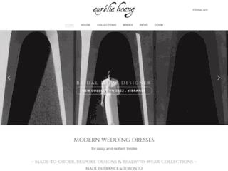 Mariage : création de robes de mariée Aurélia Hoang