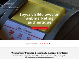 Détails : Community manager freelance et webmarketer à Bordeaux