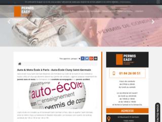 Trouver une école d'auto moto à Paris 75005