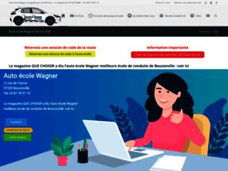 Détails : Auto-école Wagner, code de la route à Bouzonville