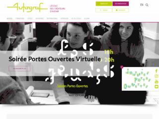 Autograf école design et arts appliqués à Paris