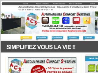 Détails : Automatismes Confort Systèmes