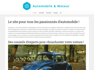 Automobile et moteur