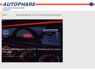 Détails : Autophare : l'actualité automobile au continu