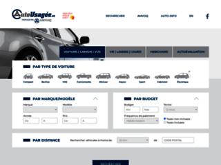 Détails : Le plus gros inventaire d'autos usagées au Québec