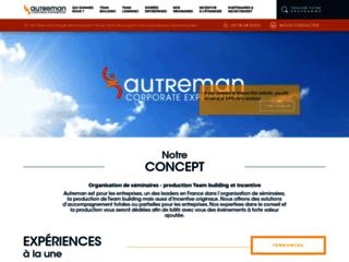 Autreman : Organisation Team Building & événements d'entreprise à Bordeaux, Paris, Marseille