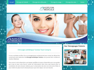 Chirurgie esthétique du visage Tunisie