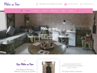 Détails : Aux Mains De Fées, spa à Marrakech