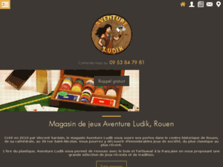 Détails : Aventure Ludik, magasin de jeux à Rouen