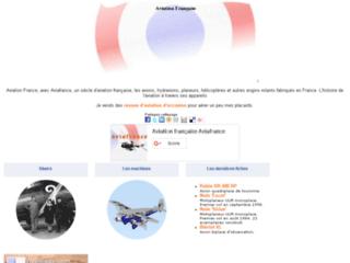 Détails : Histoire de l'aviation française à travers ses avions