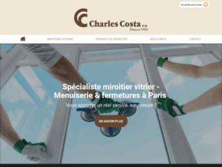 Charles Costa, votre vitrier-miroitier et menuisier à Paris