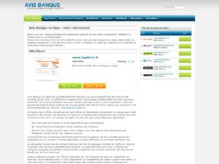 Détails : Avis Banque