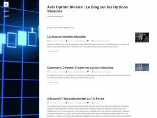 Option Binaire Avis