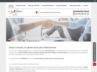 Détails : Cabinet d'avocats Action Conseils (59)