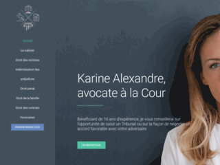 Maître Karine Alexandre, des stratégies personnalisées et uniques pour vous défendre