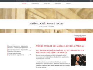 Me Maëlle Auché, avocat à Paris 10