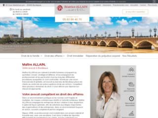 Maître ALLAIN, Votre avocat à Bordeaux