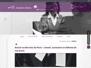 Détails : Me Adeline Belle, avocat spécialisée en droit civil à Paris