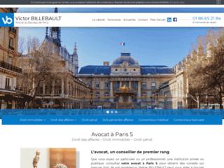Maître BILLEBAULT, avocat à Paris 5