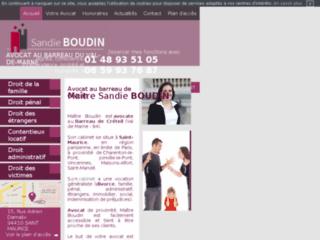 Détails : Me Boudin: Avocat à Saint Maurice