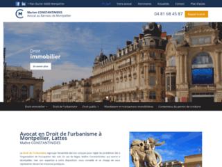 Maître CONSTANTINIDES, avocate à Montpellier