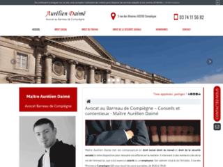 Détails : Aurélien Daimé, avocat en droit social à Compiègne