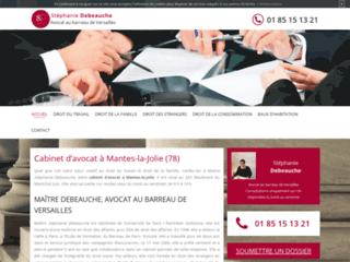 Détails : Avocat au barreau de Versailles à Mantes-la-Jolie, Maître Debeauche