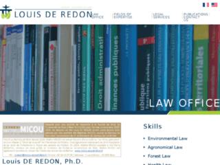 Cabinet Louis De Redon, avocat en droit de l'environnement