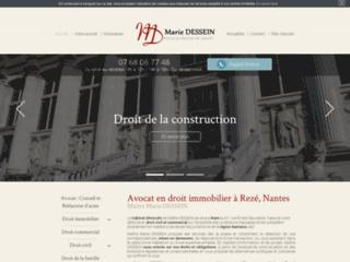 Détails : Maître Marie DESSEIN, Avocat en droit civil et immobilier