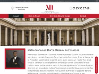 Détails : Me Mohamed Diarra, avocat au barreau de l'Essonne à Evry