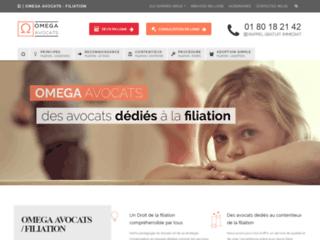 Détails : OMEGA AVOCATS Filiation