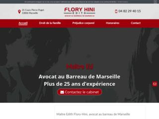 Détails : Maître Flory Hini, avocat à Marseille 6