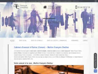 Détails : Me François Choltus, avocat en droit commercial à Floirac